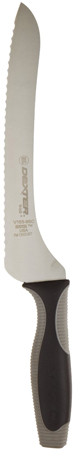 10. 9 Scalloped Offset Sandwich Knife with Soft Handle by V-Lo
