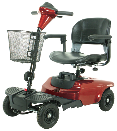 10. Drive Medical Bobcat 4 Wheel Compact Scooter