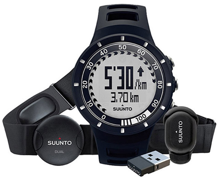 9. Suunto Quest Heart Rate Monitor Running Pack