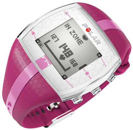 5. Polar FT4 Heart Rate Monitor