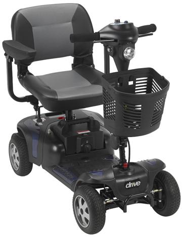 5. Drive Medical: 4 Wheel Heavy Duty Scooter, Model: Phoenixhd4