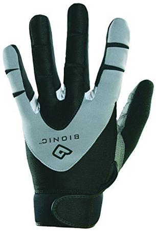 3. Men's PerformanceGrip Full Finger Fitness Gloves by Bionic