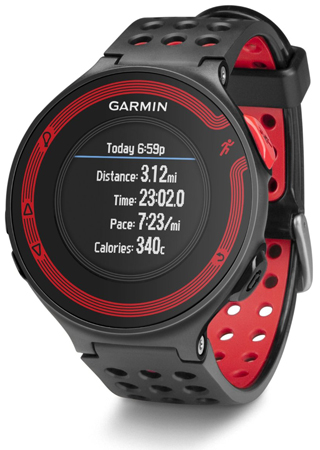 8. Garmin Forerunner 220 - Black/Red Bundle (Includes Heart Rate Monitor)