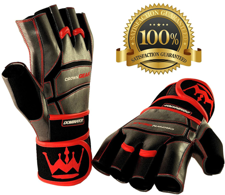 1. Weightlifting Gloves by Crown Gear