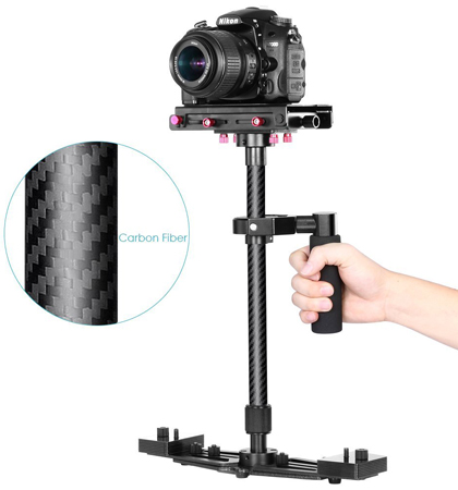 9. Handheld Carbon Fiber Alloy Stabilizer by Neewer
