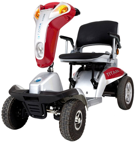 4. Tzora Titan 4 Electric Mobility Scooter