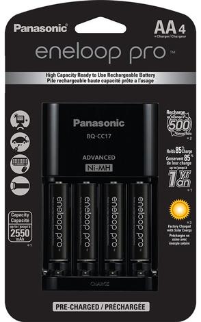 3. Panasonic K-KJ17KHCA4A Individual Cell Battery Charger