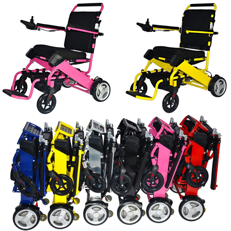 6. FOLD-N-GO Power Wheelchair from One Kubed DESIGNS