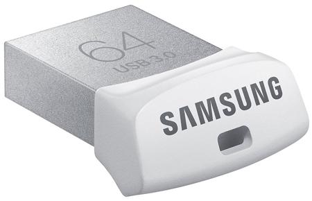 5. Samsung 64GB USB 3.0 Flash Drive Fit (MUF-64BB/AM)