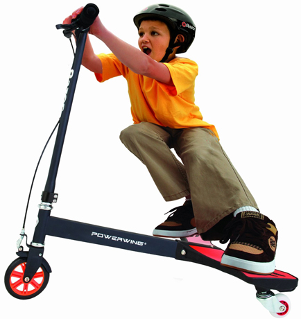 8. Razor PowerWing Caster Scooter