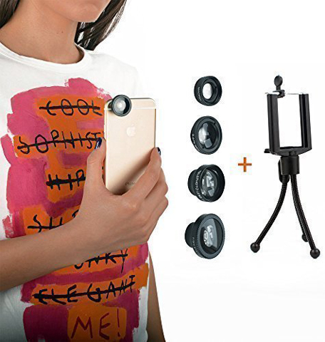 9. ipHone Lens 4 In 1 Magnetic Kit Premium