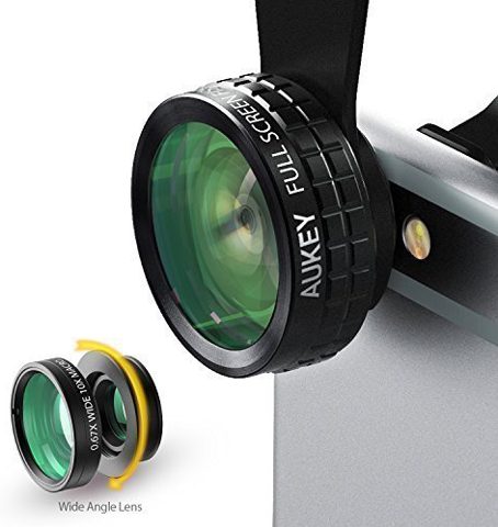 5. Aukey Ultimate Pro HD Camera Lens Kit