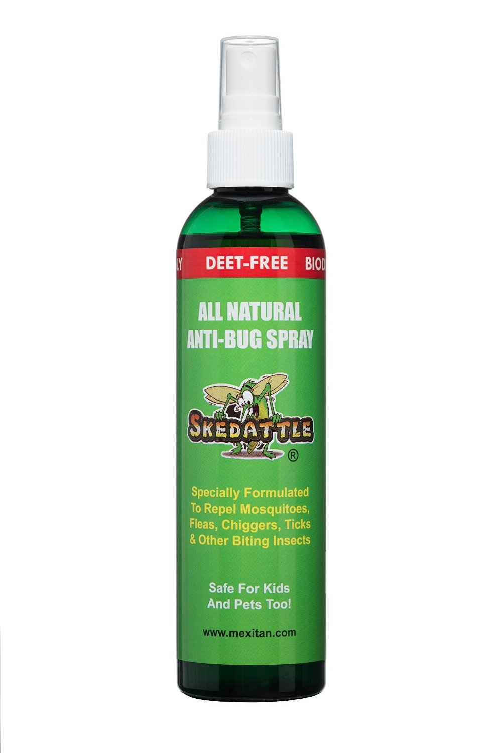 3. Skedattle All Natural Insect Repellent with Essential Oils: