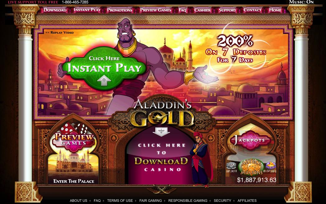 Aladdin Casino Online