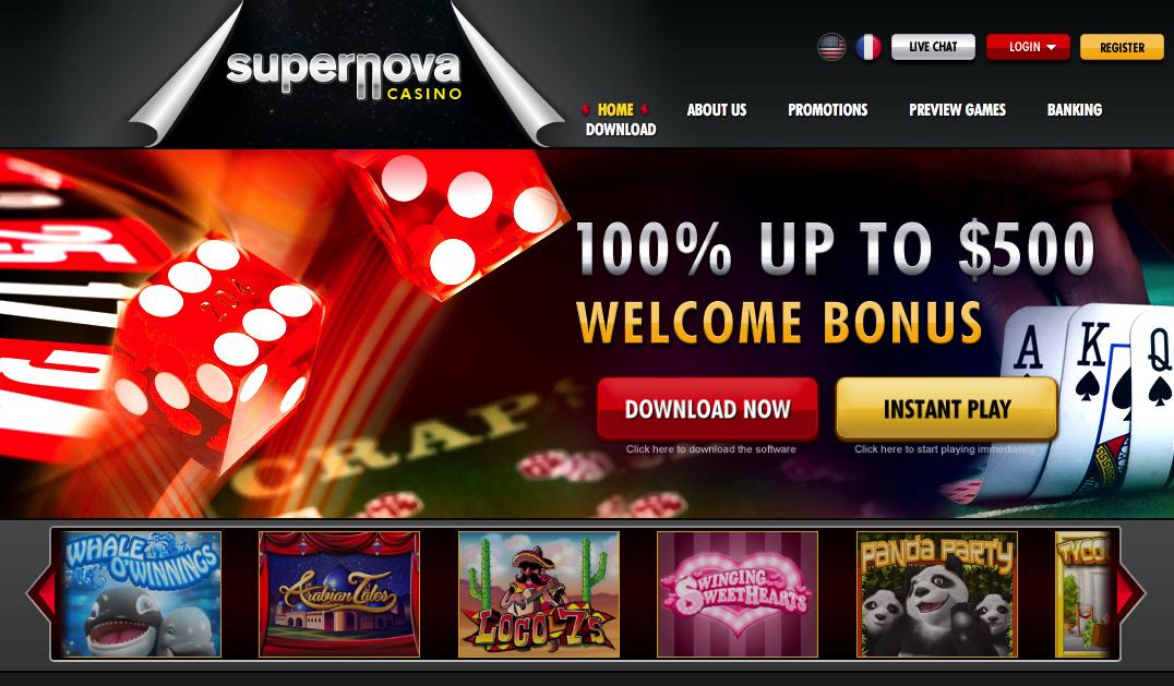 best online gambling sites supernova casino